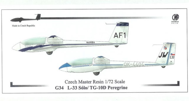 LET L-33 Solo / TG-10D Peregrine (Gliders)