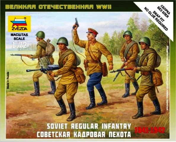 "Soviet Regular Infantry ""1939 - 42"""