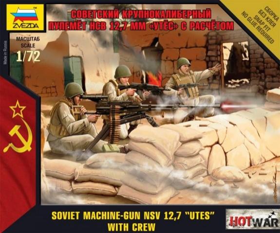 """Soviet Machine Gun """"Utes"""" (Modern)"""