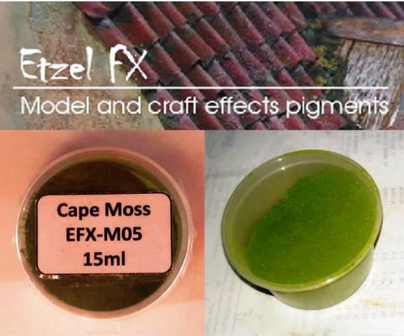 Cape Moss Weathering Powder (15ml)