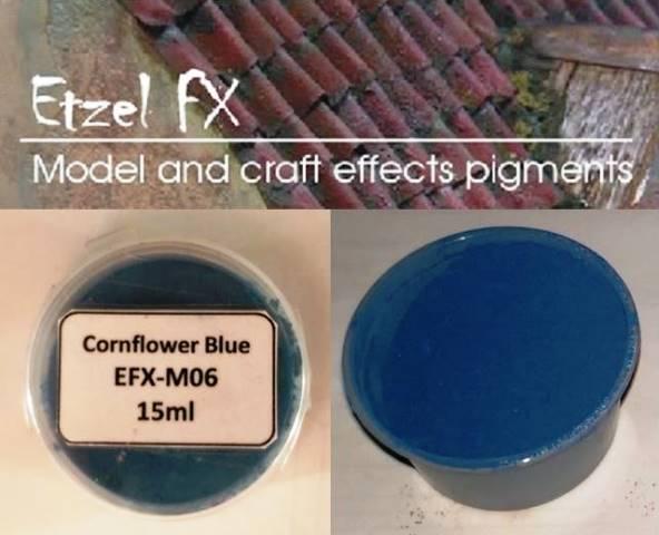 Cornflower Blue Weathering Powder (15ml)