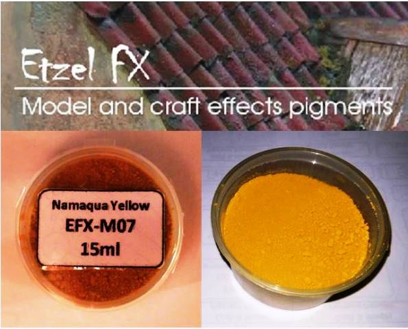 Namaqua Yellow Weathering Powder (15ml)